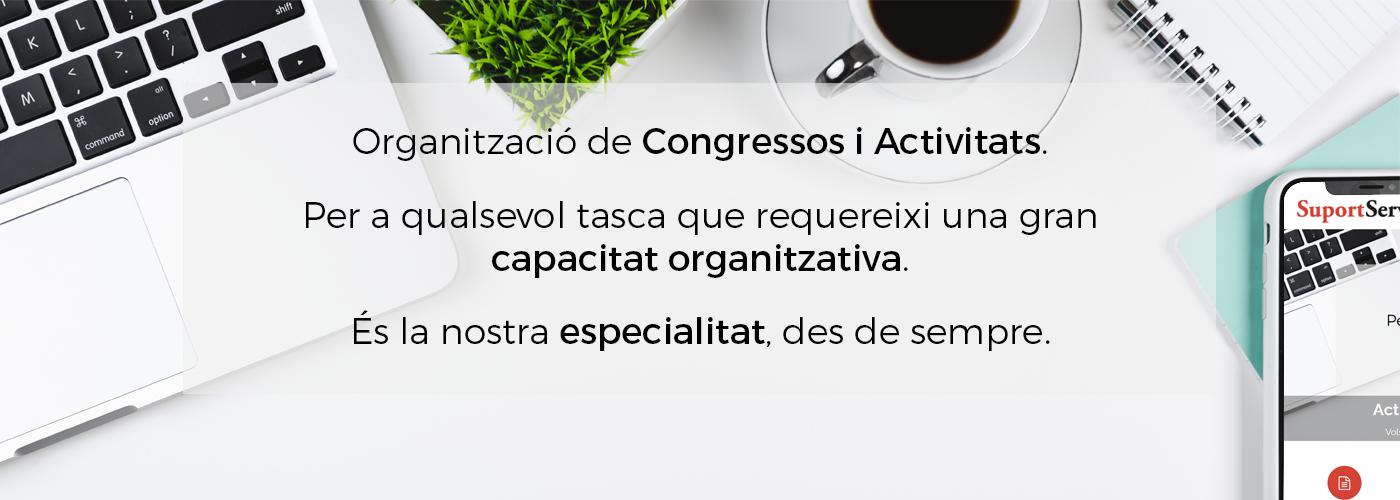 Vols saber quines activitats i congressos estem organitzant? Dóna-hi un cop d'ull!