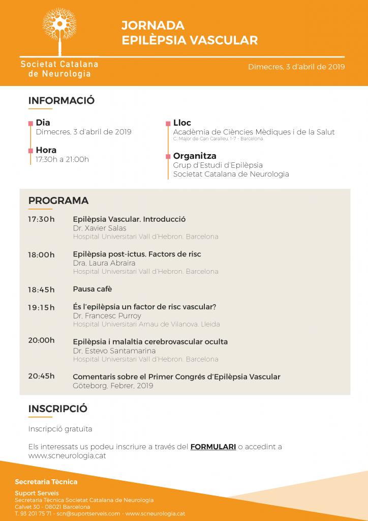 IMATGE Programa Jornada Epilèpsia Vascular SCN_3 abril 2019_v1