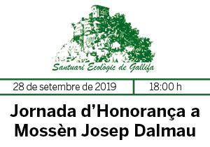 Jornada d'Honorança a Mossèn Josep Dalmau