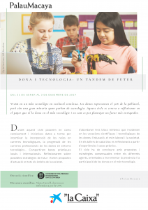 PORTADA Programa DonaTecnologia_CAT 2019