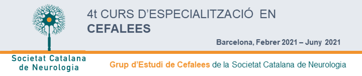Capçalera 4t Curs Cefalees 2021