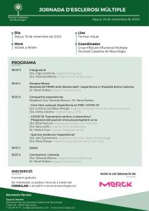 Portada programa Jornada EM - 19 novembre 2020